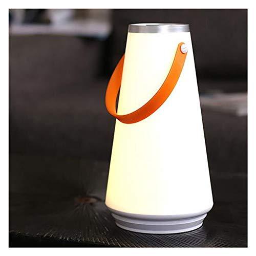 KOLOSM Linterna Camping USB Recargable Control táctil Camping Luz de Emergencia Lámpara de Noche Creative Lovely Portable Wireless Night Light Lámpara de Mano
