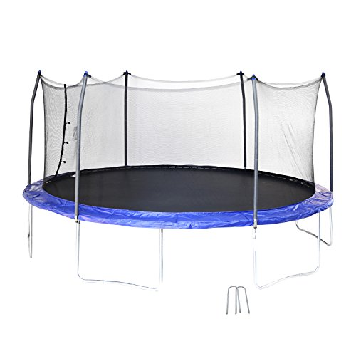 Skywalker swtc17bws Ovalado trampolín y recinto con Viento estacas (17-Feet)