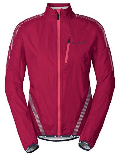 VAUDE Damen Luminum Performance Jacket Regenjacke für den Radsport, crimson red, 40, 405219770400