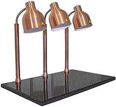 EWYI Lampe chauffante pour Aliments, Lampe chauffante pour Chauffe-Plats, Lampe chauffante en marbre pour Barbecue, pour l...