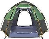 JLDNC Tienda automática, 5-8 Persona Surge la Tienda Easy Set Up Instant Carpas portátiles a Prueba de Viento Impermeable para la excursión Que acampa del Alpinismo,B