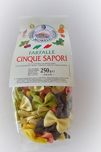 Antico Pastificio Toscano MORELLI - Farfalle ai 5 Sapori (250 gr)