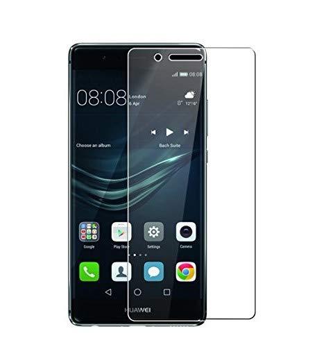 WEOFUN 2 Unidades Huawei P9 Protector de Pantalla, Cristal Templado Protector para Huawei P9 Vidrio Templado 5.2 Pulgadas [0.33mm, 9H Dureza, Alta Transparencia]
