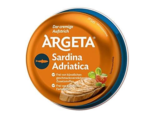Argeta Pasteta Sardina Adriatica - Sardinen Aufstrich Pastete Brotaufstrich 95g