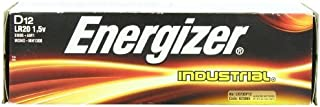 Portable, Energizer D Alkaline Industrial Batteries, Box of 12 Consumer Electronic Gadget Shop