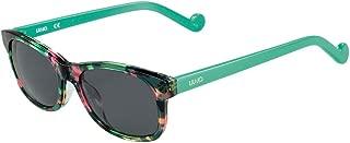 Liu Jo Rectangular LJ3601S Green Marble Girl's Sunglasses
