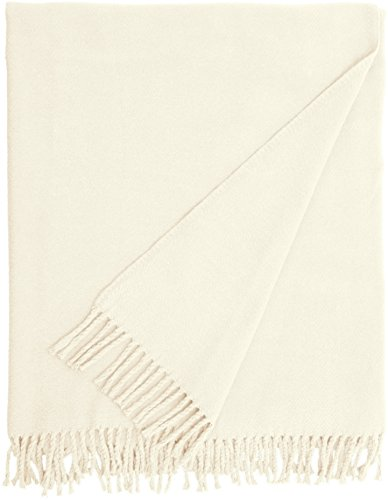 Euromant Basics Plain Hülle, Baumwolle, cremefarben, 140 x 180 x 5 cm