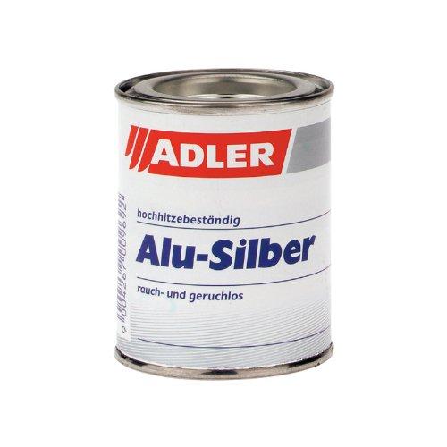 Alu-Silber 125ml Einbrennlack Lack für Ofen und Ofenrohr etc.
