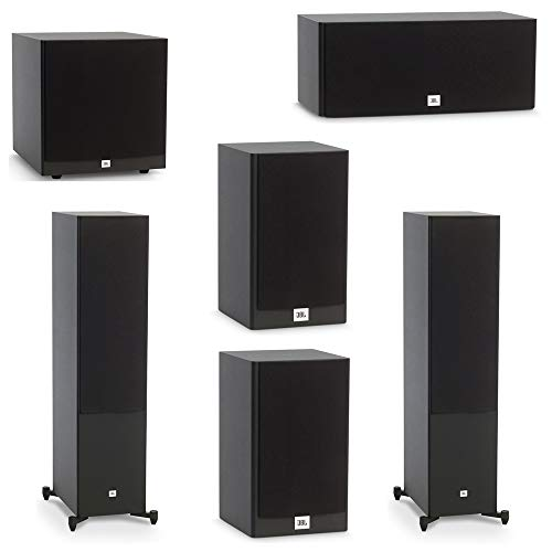 Great Price! JBL 5.1 System with 2 JBL Stage A190 Floorstanding Speakers, 1 JBL Stage A125C Center S...