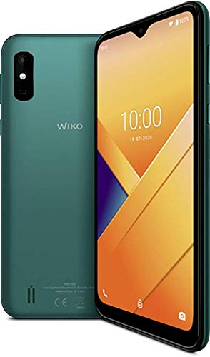 Brodos WIKO Y81 Smartphone, 6,2 Zoll (15,75 cm), 4G, Dual-SIM, Android 10, Green [Import Ware], WIKY81WV680DEBST