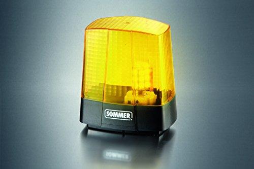 Sommer Warnlicht 5070V001 - Signalleuchte 230 V - Warnleuchte
