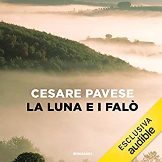La luna e i falò                   By:                                                                                                                                 Cesare Pavese                               Narrated by:                                                                                                                                 Pietro Ragusa                      Length: 4 hrs and 15 mins     1 rating     Overall 5.0