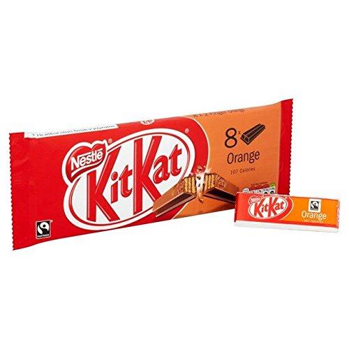 Kit Kat 2 Doigts d'orange 8 X 20,8 G - Paquet de 2