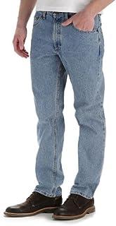 بنطلون جينز رجالي من Lee Men's Regular Fit Straight Leg
