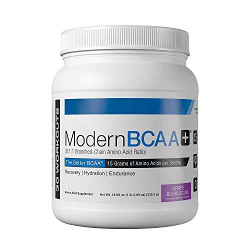 Modern Sports Nutrition BCAA+, Grape Bubblegum, 535 g