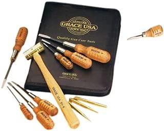 Grace USA - Gun Care Tool Set - GCT 17 -Gunsmithing  - Gun Care Kit - 17 piece - Gunsmith Tools & Accessories