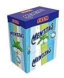 FIESTA Mentitas Caramelo Duro Sabor Menta Relleno de Caramelo Masticable - Caja de 270 unidades