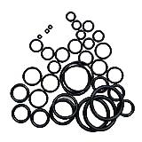 ZHOUZHONGLAN Robusto Set 36 Kit de Anillo tórica de Buceo de Buceo Kit Técnico Usado Manguera Regulador Anillos de reemplazo de excelente reparación Resistente al Desgaste