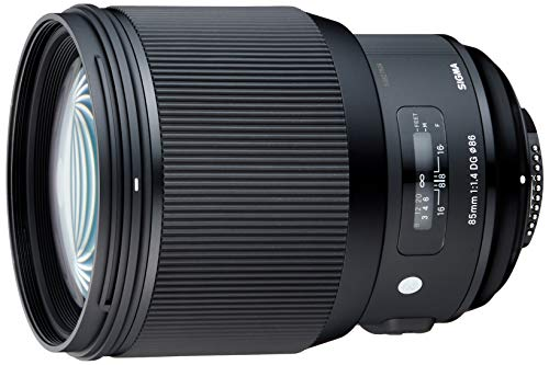 Sigma 85mm f/1.4 DG HSM Art Lens for Nikon F (321955)