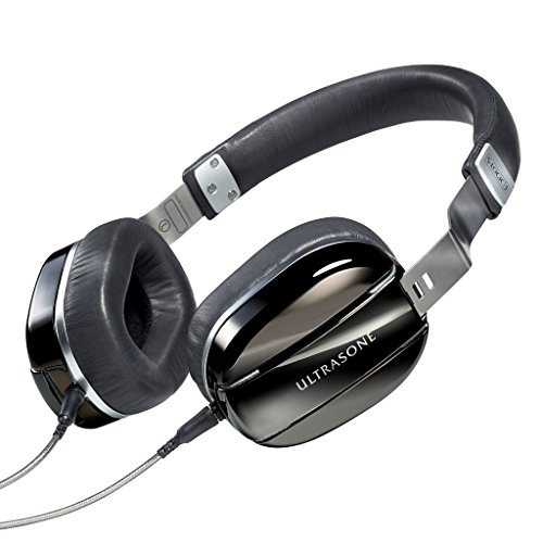 ULTRASONE Edition M Black Pearl | Dynamischer Hi-Fi Profi Kopfhörer Made in Germany | Inklusive Transportbeutel