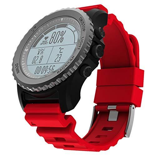 Deportes profesionales Snorkeling Reloj inteligente Escalada Submarinismo Montar a caballo GPS independiente Calorías Altitud, temperatura, IP68 Impermeable Adecuado para hombres...