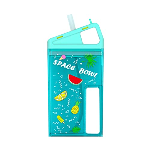 Vasos con Boquilla para Niños Bebés Biberón Trainer Cup Botella Infantil con Pajita Sin BPA Taza de Verano para Agua Leche Jugo Diseño Ergonómico a Prueba de Fugas 260ML para Jardín de Infancia