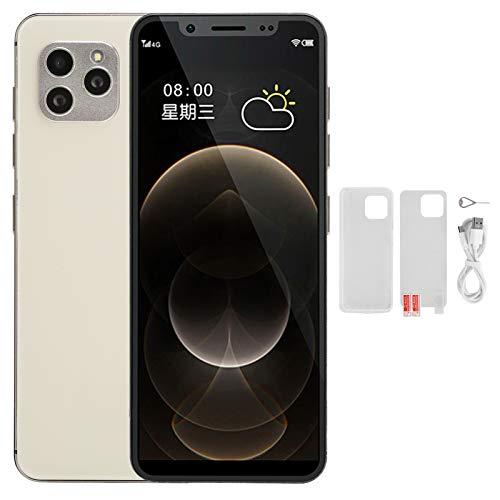 Teléfonos Móviles Libres 4G, S11S Android 9.0 Dual SIM Smartphone Libres con Huella Dactilar, Pantalla de 4.82', Full Netcom, Cámara 8MP + 13MP, Face ID, GPS, WIF, Versión Global(3GB + 64GB)