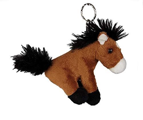 Ravensden Schlüsselanhänger Pferd aus Plüsch, Tier Tiere Pferde Pony
