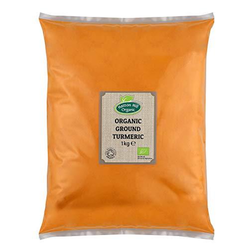 Organic Ground Turmeric 1kg by Hatton Hill Organic - Certified Organic