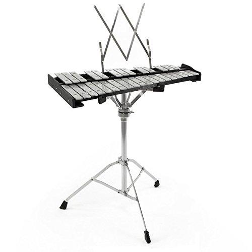 Glockenspiel dOrchestre à 32 Notes par Gear4music avec Support etÉtui