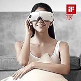 Breo Okularmassagegerät, Augenmassagegerät zur Entspannung der Augen durch Luftdruck, Vibration und Wärme, lindert visuelle Ermüdung, Concealer, fördert...
