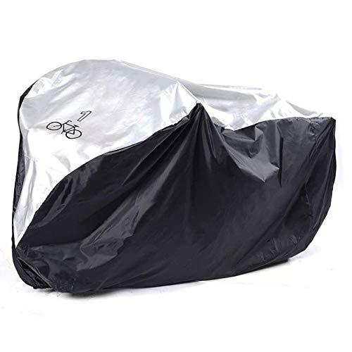 Funda de la Bicicleta de montaña impermeable Impermeable prevención de la oxidación de la bicicleta cubierta de la lluvia Protección resistente UV for almacenamiento exterior garaje a prueba de polvo