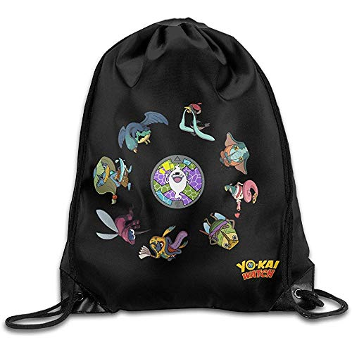 Wallxxj Cinch Bags Yo-Kai Watch Personajes Sregalo