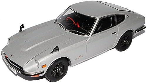 AUTOart Nissan Fairlady 240Z Z432 Coupe Silber 1969-1978 77437 1 18 Modell Auto mit individiuellem Wunschkennzeichen