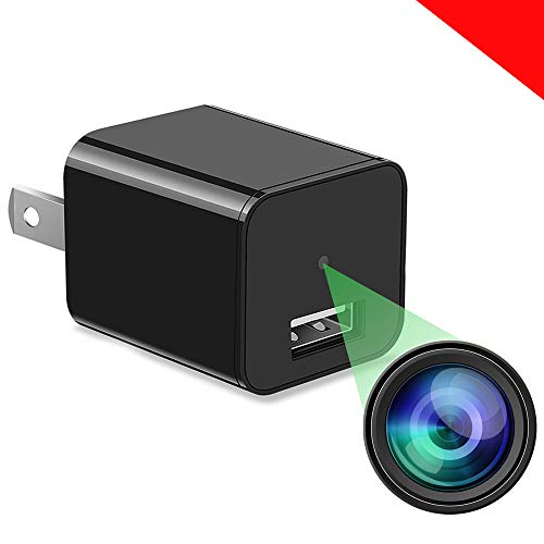 Spy Camera Charger - Hidden Camera - Ultra HD 1080P - Best Spy Charger - USB Charger Camera - Hidden Spy Camera - H264 Compression - Nanny Camera - Mini Spy Camera - Hidden Cam - Support Alexa Outlets
