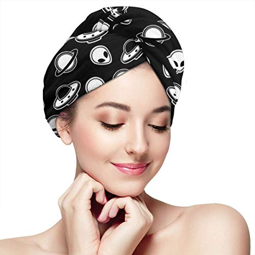 Trockenes Haar, Badekopfwickel, Shuttle Shuttles Hair Towels Wrap Fashion Buttons Dry Hair Hat Wrapped Bath Cap Absorbent Cap Fits Most Hair Types