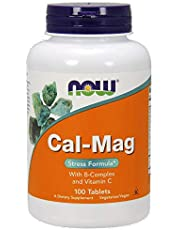 NOW Foods Cal-Mag Stress Formula Tabs 100's