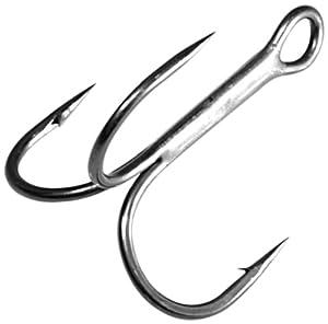 Gamakatsu Round Bend Treble Hook-Pack Of 25 (Bronze, 4)