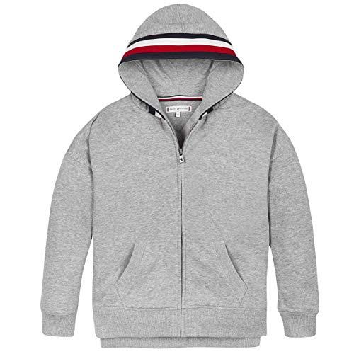 Tommy Hilfiger Kg0kg05223-p6u Sweatshirts Und Fleecejacken Jungen Grau - 14 Jahre - Sweatshirts Sweater