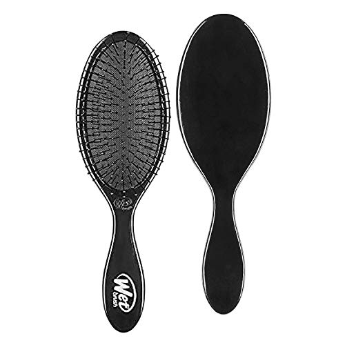 Wet Brush Original Detangler Hair Brush: Classic Black - Exclusive Ultra-soft IntelliFlex Bristles - Glide Through Tangles With Ease For All Hair Types - For Women, Men, Wet And Dry Hair