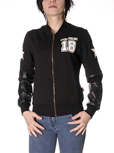 Carlsberg Sweatshirt Fullover CBD1456 Made in Italy MainApps, Schwarz XL