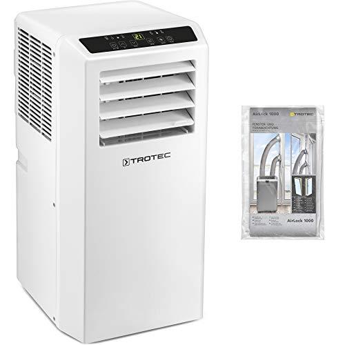 TROTEC Climatizzatore locale PAC 2610 S - Unità di climatizzazione 3 in 1: fornisce un piacevole clima interno attraverso il raffreddamento, la ventilazione e la deumidificazione incluso AirLock 1000