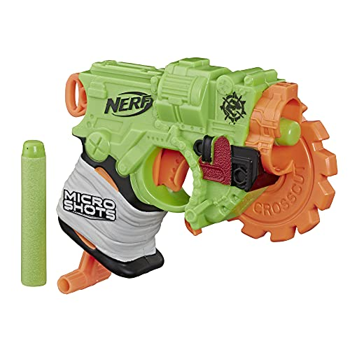 NERF MicroShots Zombie Strike Crosscut Blaster