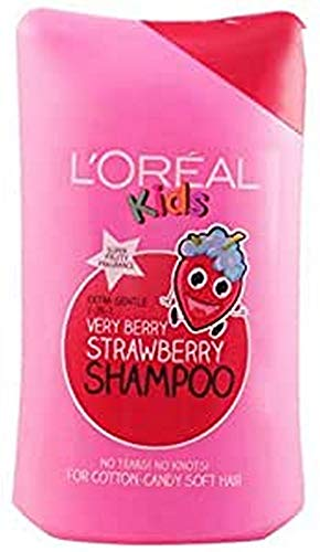 Champú L'Oreal Kids Extra Gentle 2 en 1 Very Berry Strawberry 250 ml