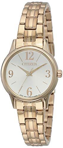 Citizen Analog White Dial Women's Watch - EX0293-51A