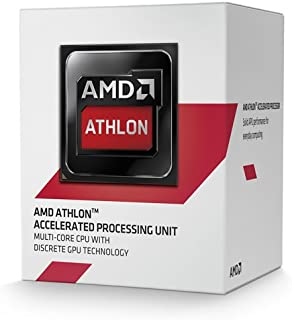 AMD AM1 Athlon 5350 - Procesador (4 x 2.05 GHz, 2 MB Box) Color Negro