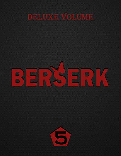 Berserk Deluxe vol 5: Berserk Manga Horror Seinen vol 5 (English Edition)