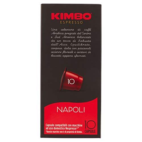 Kimbo Espresso Napoli 10 x 5,8 g
