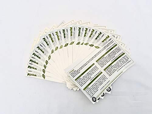 Adesivi Lavaggio Asciugamani EcoWorldHotel, specifici per Hotel e B&B - sfondo bianco - 15 PZ -