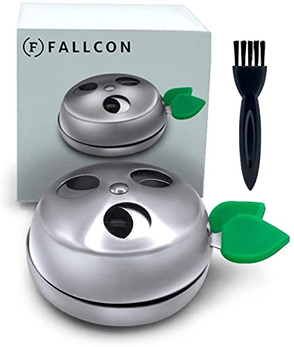 Gestor de Calor Shisha,Regulador de Carbón Provost Cachimba Apple Accesorios Acero Inoxidable - Incluye Cepillo de Limpieza.